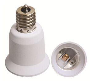 E14 to E27E26 light bulb socket adapter