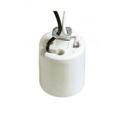 E26 F011B brass lamp holder with bracket M10X1 thread hole
