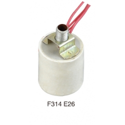 E26 F314 ceramic lamp base