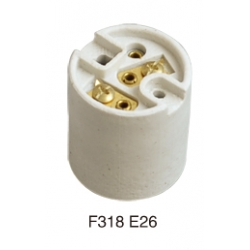 E26 F318 ceramic lamp base