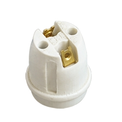E26 F325 ceramic lamp base with VDE