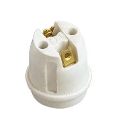 E26 F325 ceramic lamp base with VDE