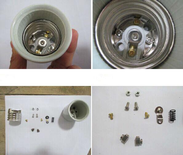 E26 F318 Ceramic Lamp Base With Ul