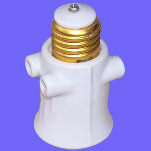 E27 063 porcelain light socket