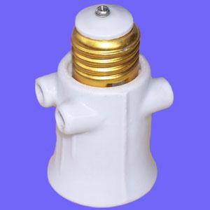 E27 063 porcelain light socket