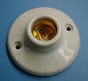 E27 505-1 porcelain lamp holder