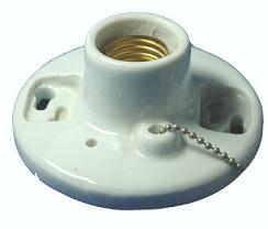 E27 507-5 Porcelain light socket