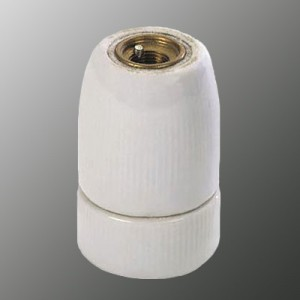 E27 510A porcelain lamp holder