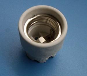 E27 519G porcelain lamp holder
