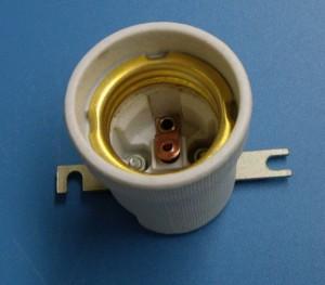 E27 519K-1 porcelain lamp holder