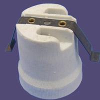 E27 519T porcelain light socket