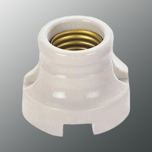 E27 529C Porcelain light socket