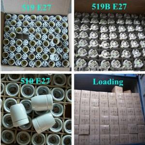 E27 lamp holder packing
