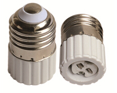 E27 to MR16A light bulb socket adapter with CE