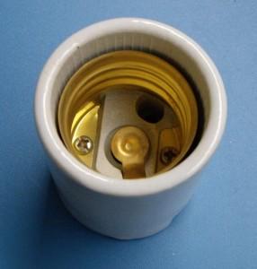 E40 539-2 porcelain lamp holder