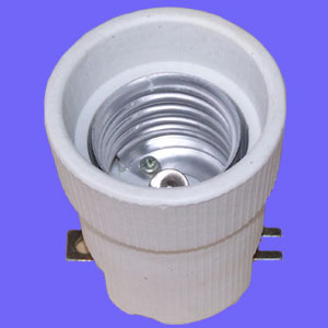 E40 539F ceramic lamp holder