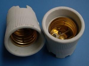 E40 822 ceramic lamp holder