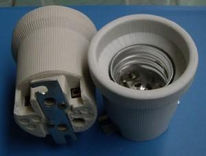 E40 YM110/N porcelain lamp holder