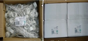 GU10 socket packing Carton