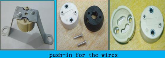 GU10 socket sizes