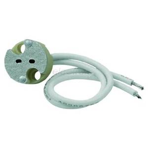 MR16 socket with 15cm cord for LED & halogen lamps