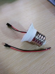 led lamp holder while