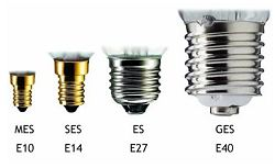 E27 lamp cap and bases