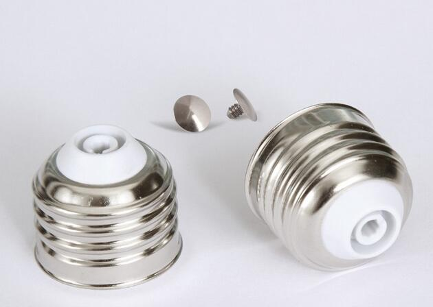 E27 free-soldering lamp cap for led lamp