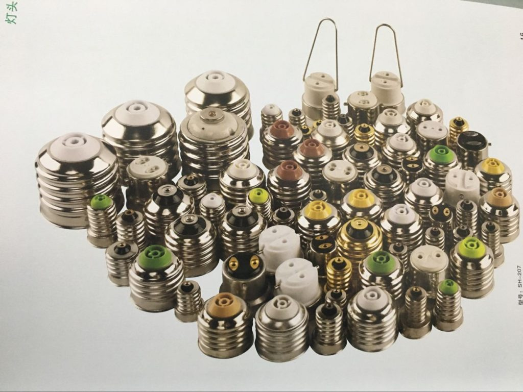e14 lamp cap Edison Screw Caps