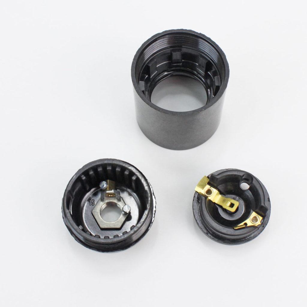 E27 bakelite bulb holder