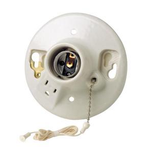E27 ceiling light bulb socket lamp holder chain