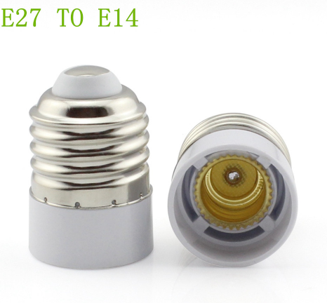 e27 to e14 candelabra socket adapter plug