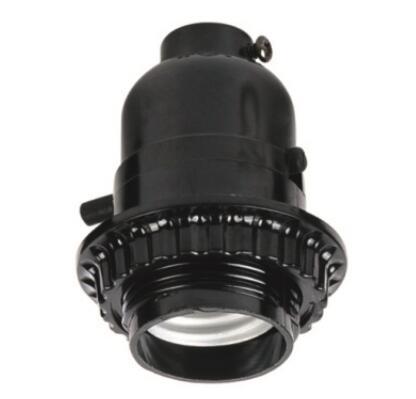 E26 bulb sockets half thread and lock screw