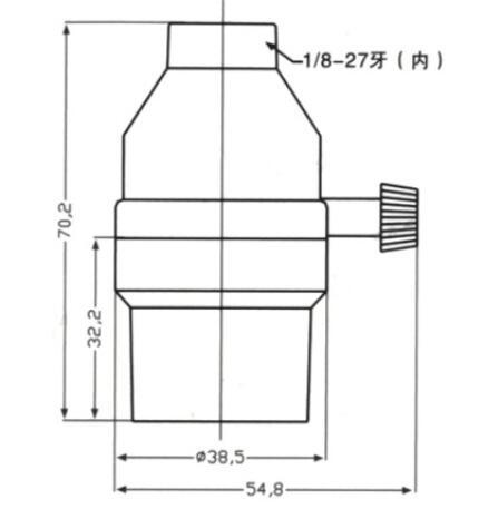 Bakelite E26 light bulb sockets smooth skirt with switch diagram