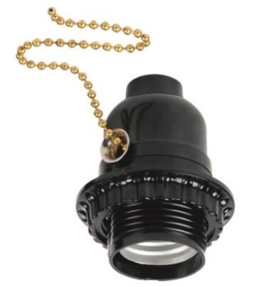 Bakelite medium screw E26 half thread and lock screw