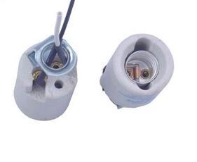 E12 Edison Screw ceramic bulb socket for led lamp
