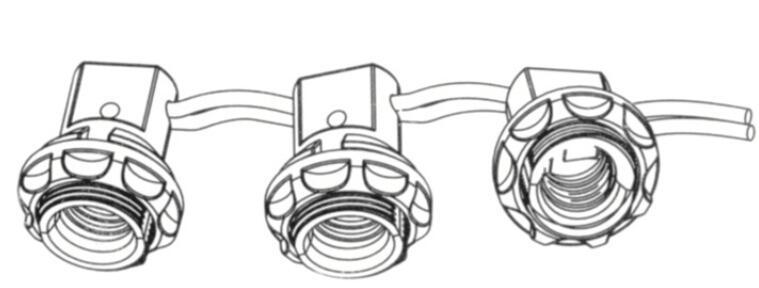 E12 bakelite lampholder drawing