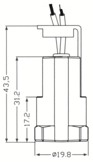 E12 light sockets smooth skirt drawing diagram