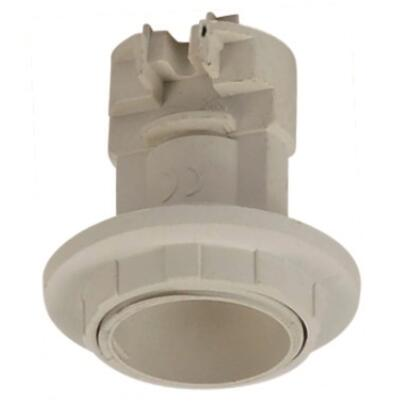 E14 lamp base Irregular Skirt with outer ring