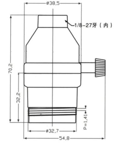 E26 brass light bulb sockets smooth skirt with switch drawing