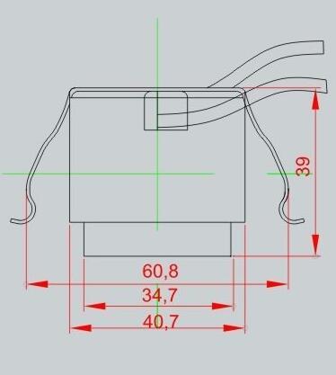 E26 medium base lamp socket drawing