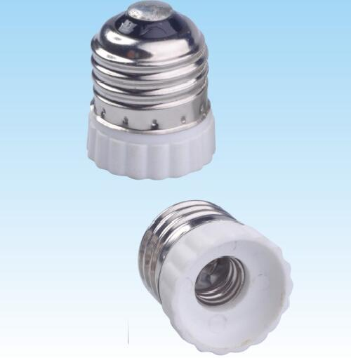 E26 to E12 Plastic lamp holder adapter for led lamps