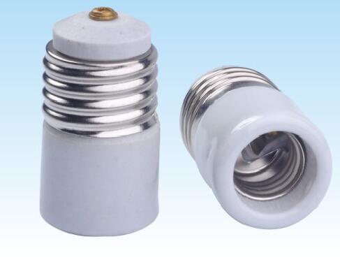 E26 to E17 Ceramic lamp holder adapter for led lamps