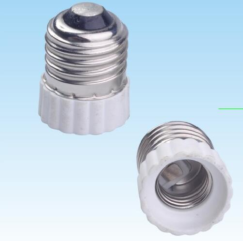 E26 to E17 Plastic lamp holder adapter for led lamps