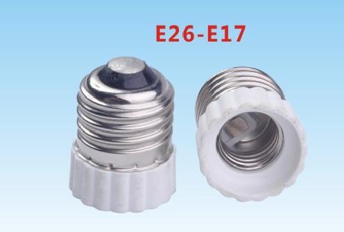 E26 to E17 light bulb socket adapter