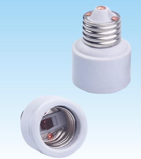 E26 to E26 Ceramic lamp holder adapter for led bulbs