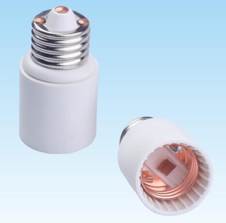 E26 to E26 Plastic lamp holder adapter for led lamps