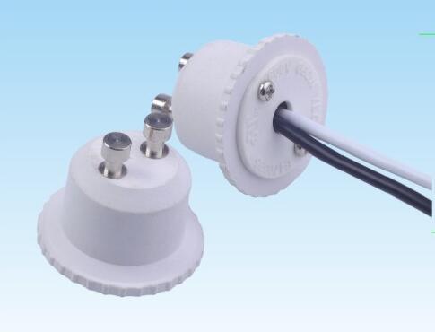 GU10 Plastic lamp holder adapter for led downlights 605