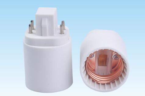 GU23 to E26 plastic lamp holder adapter for led lamps