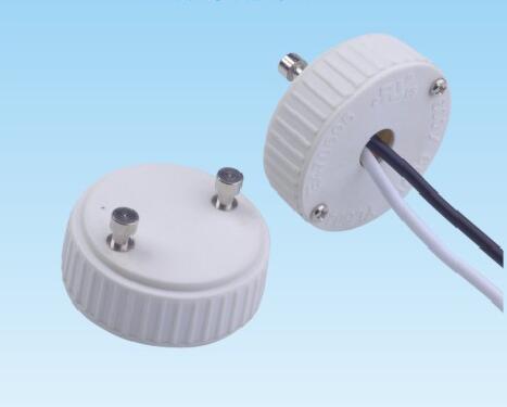 GU24 Plastic lamp holder adapter for led downlights